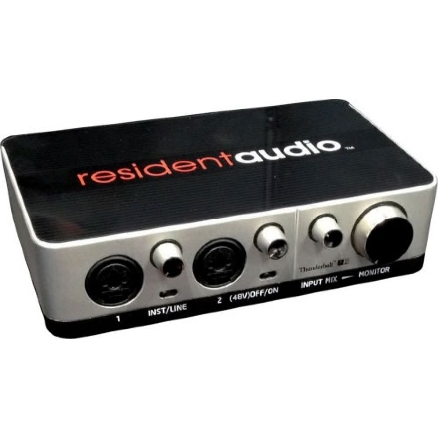 RESIDENT AUDIO T2 Thunderbolt - INTERFACCIA AUDIO 2 IN / 2 OUT