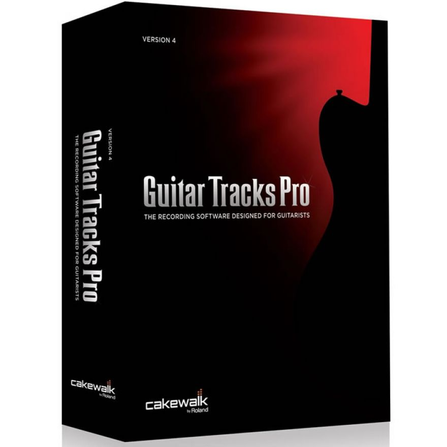 CAKEWALK GUITAR TRACKS PRO 4 - SOFTWARE PER CHITARRISTI