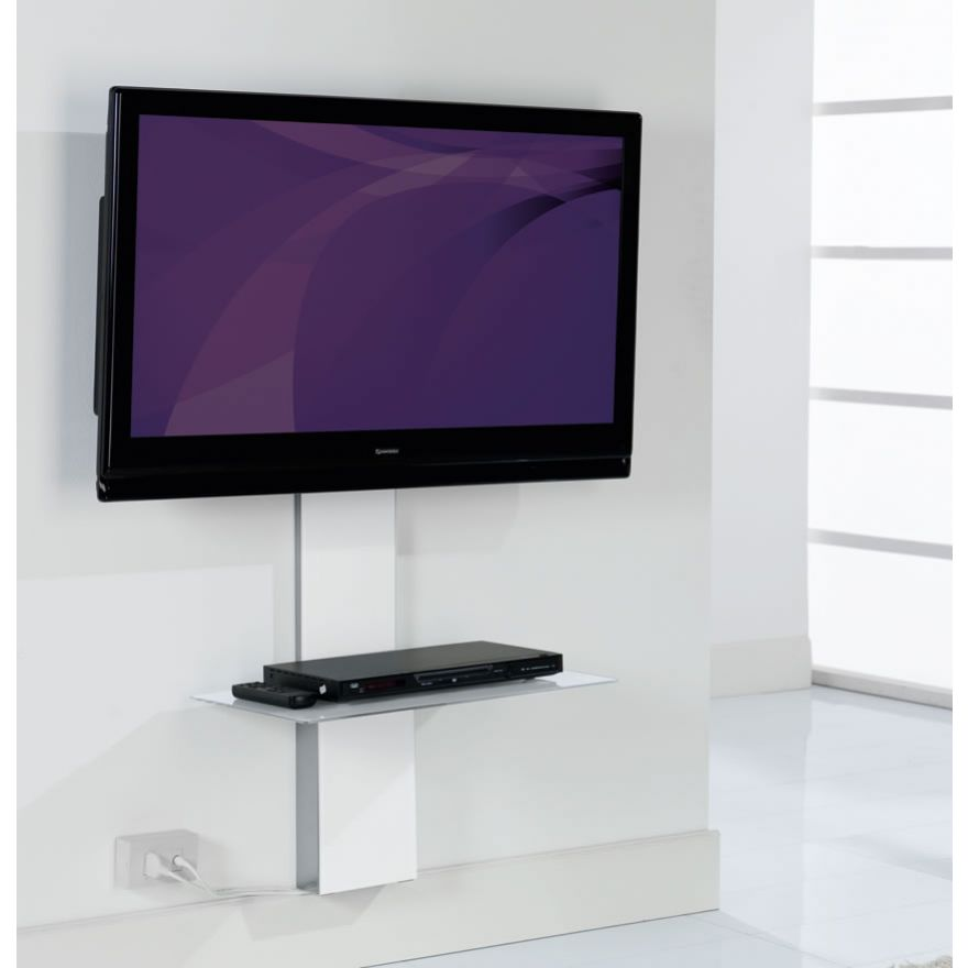 MUNARI SP901BI - STAFFA PER TV CON RIPIANO