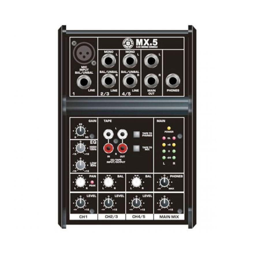 Topp Pro MX5 Mixer passivo