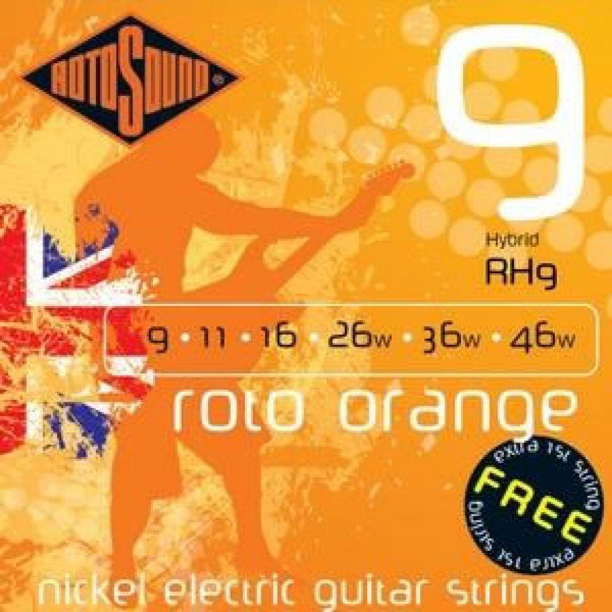 ROTOSOUND RH-9 - Cordiera per chitarra elettrica (0.09-0.46)