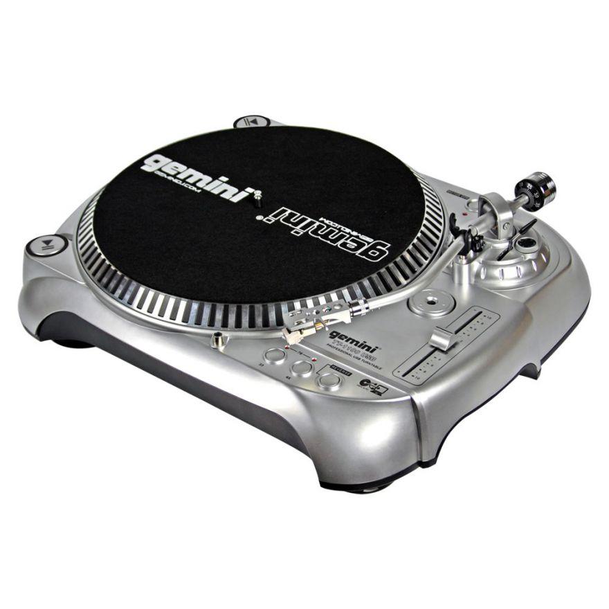 GEMINI TT1100 USB - GIRADISCHI PER DJ TRAZIONE A CINGHIA