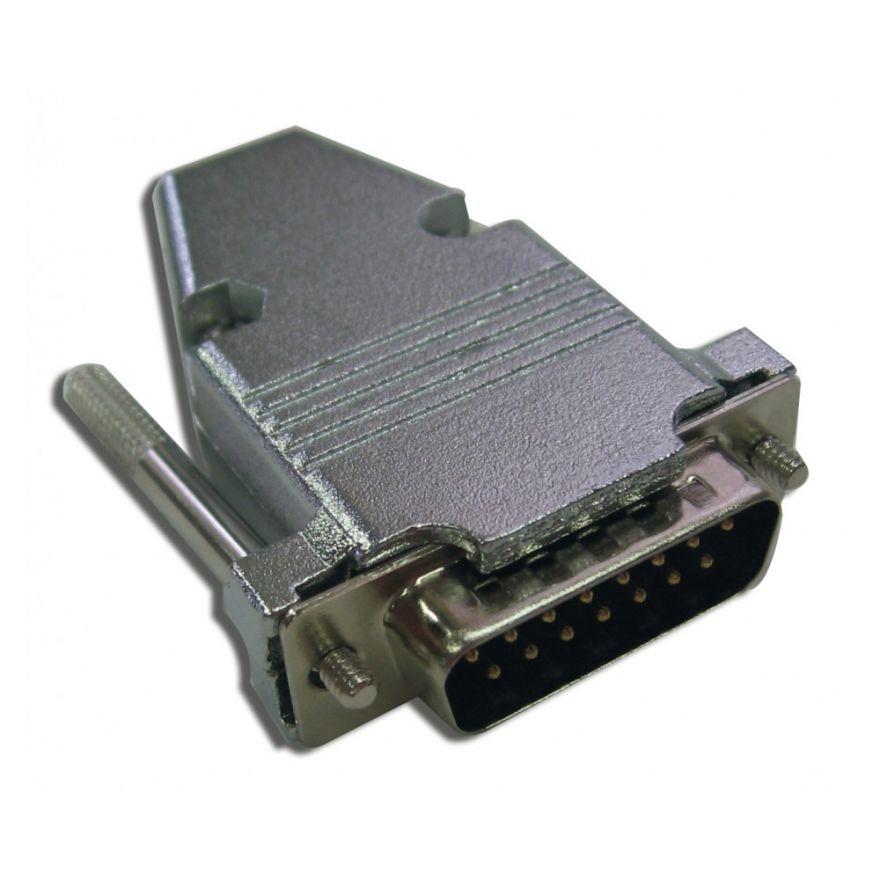 QUIKLOK DSUB 15M - CONNETTORE D-SUB 15 POLI MASCHIO