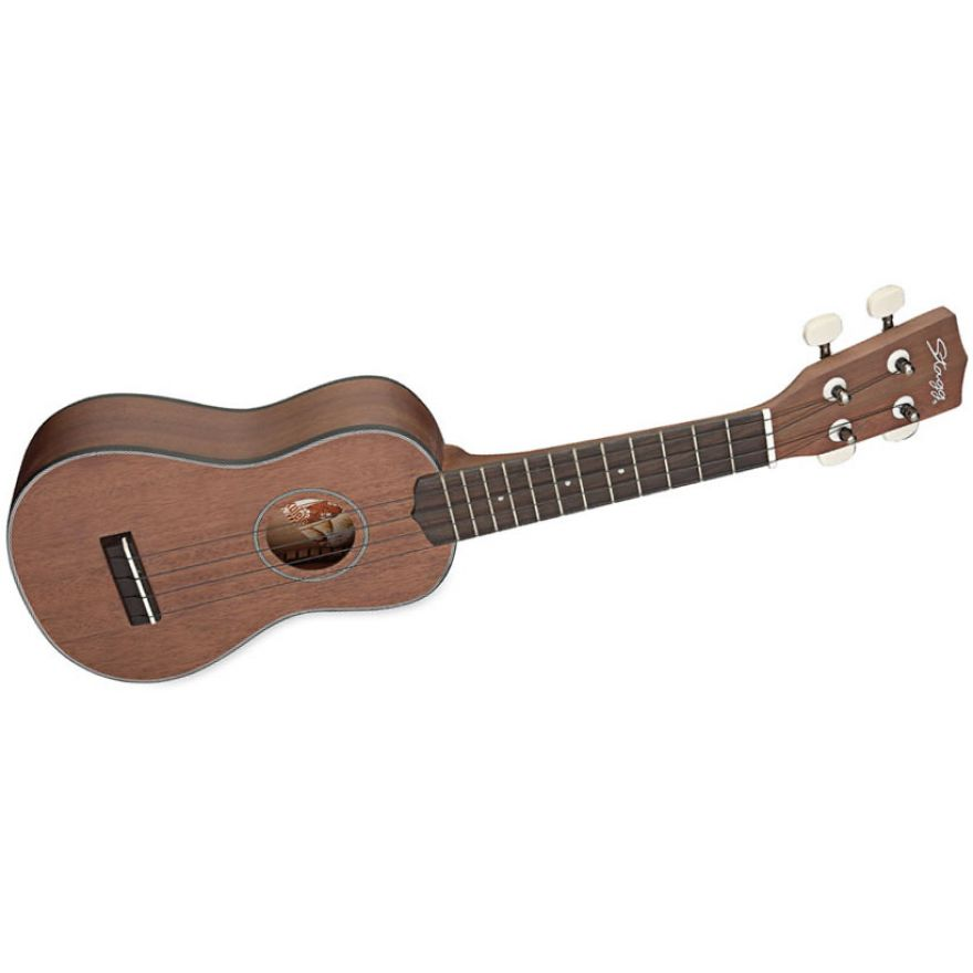 STAGG US40-S - UKULELE SOPRANO MASSELLO NATURAL + BORSA