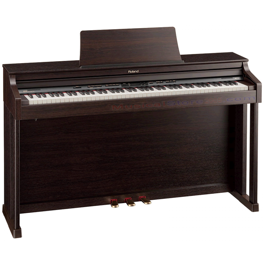 ROLAND HP302RW - PIANOFORTE DIGITALE 88 TASTI PALISSANDRO