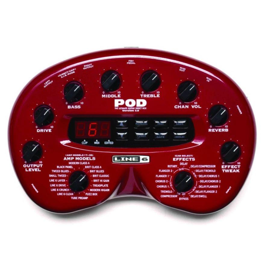 LINE6 POD 2.0 - AMP MODELER PER CHITARRA