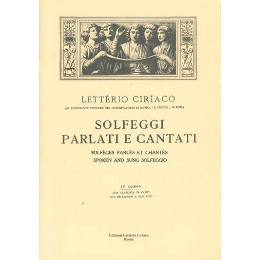 EDIM Ciriaco - SOLFEGGI PARLATI E CANTATI 4 Corso