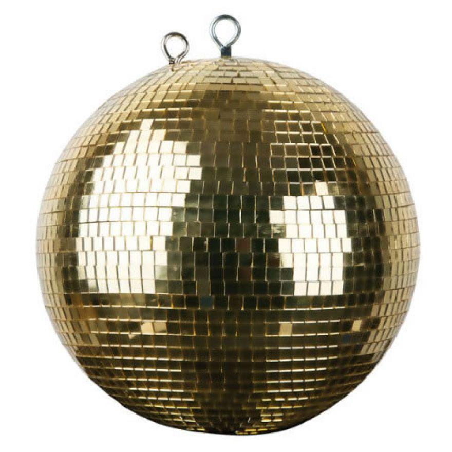 SHOWTEC MIRRORBALL 30 CM GOLD MIRROR - SFERA A SPECCHI 30 CM GOLD