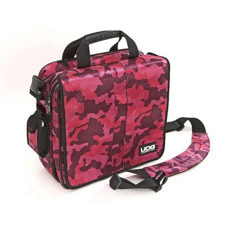 UDG COURIER BAG DELUXE CAMO PINK