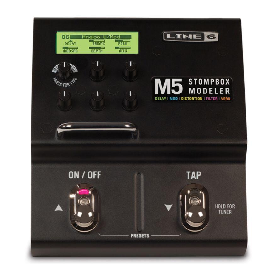 LINE6 M5 STOMPBOX MODELER - PEDALIERA MODELING DIGITALE