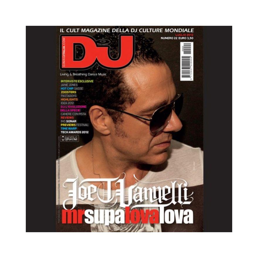 DJ MAG ITALIA DJ MAG LUGLIO 2012