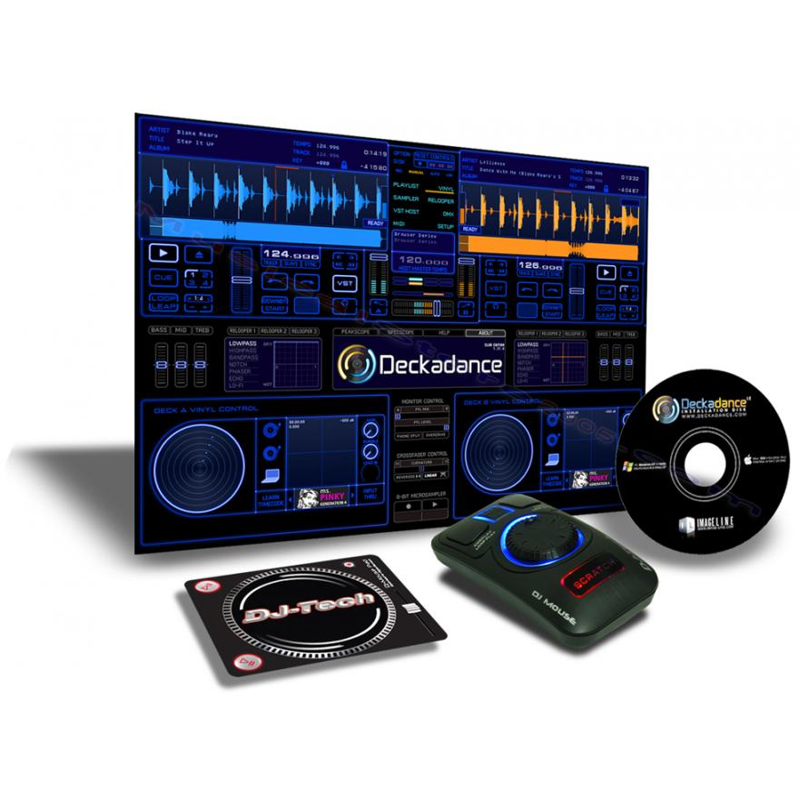 DJ TECH DJ MOUSE - CONTROLLER USB