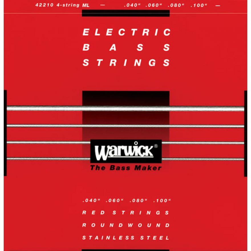 0-WARWICK Red String 42210