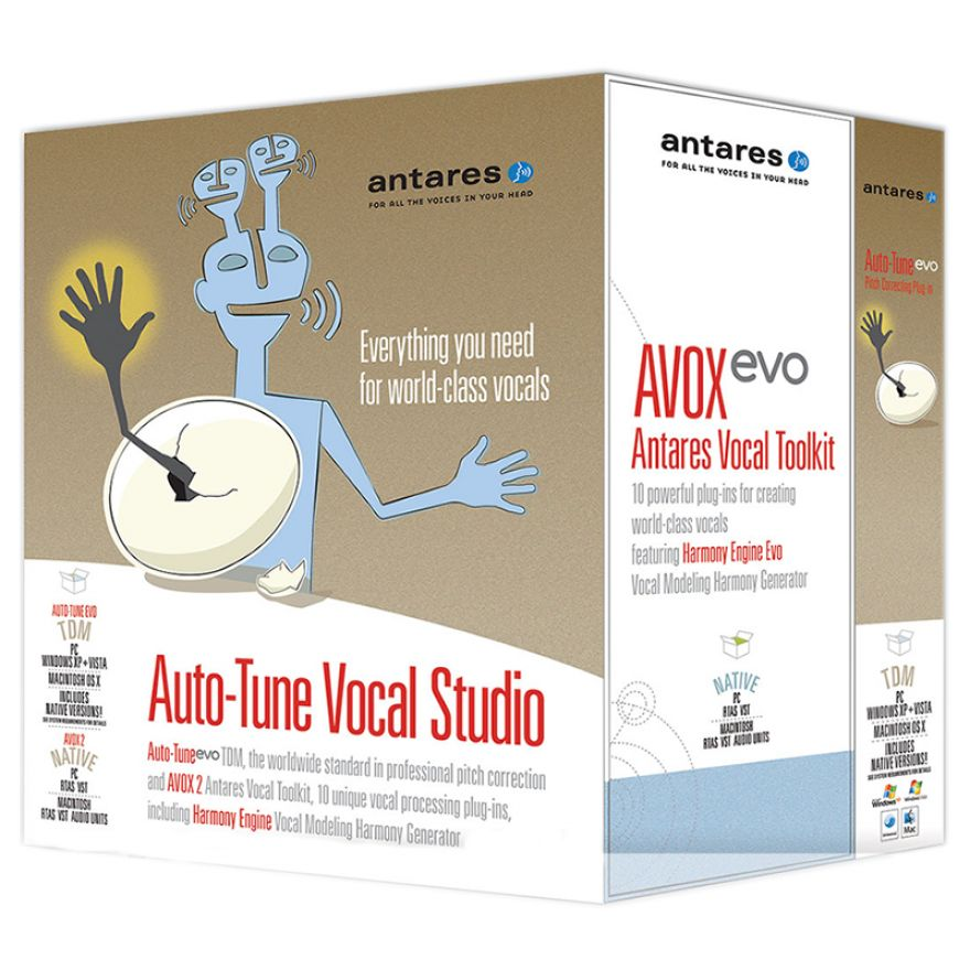 ANTARES Auto Tune Vocal Studio 7 TDM