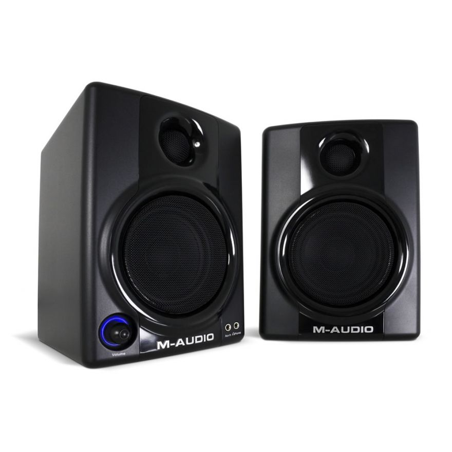 M-AUDIO STUDIOPHILE AV30 (COPPIA) - MONITOR AUDIO PROFESSIONALI