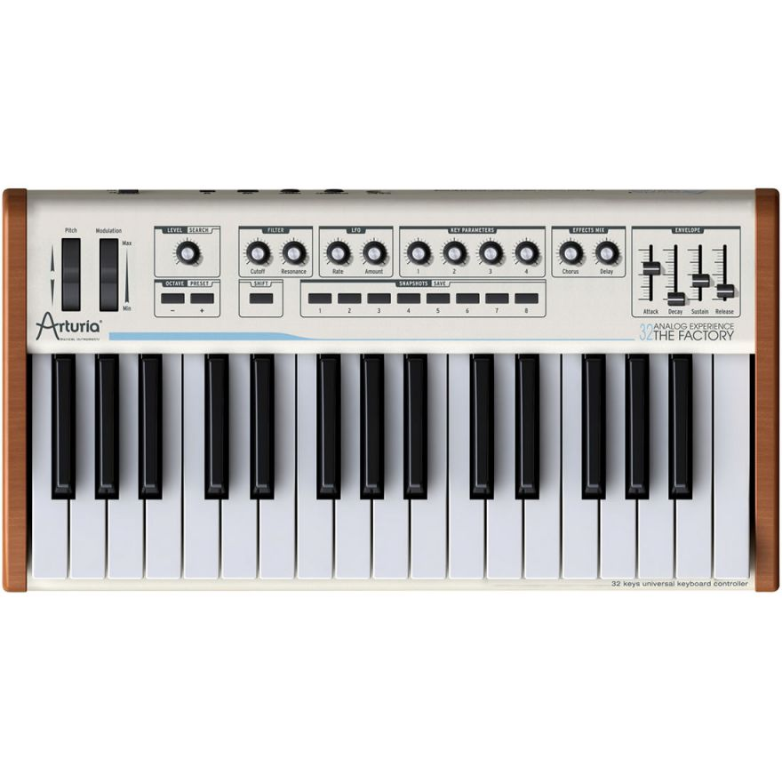 ARTURIA ANALOG EXPERIENCE 32 THE FACTORY - SYNTH IBRIDO