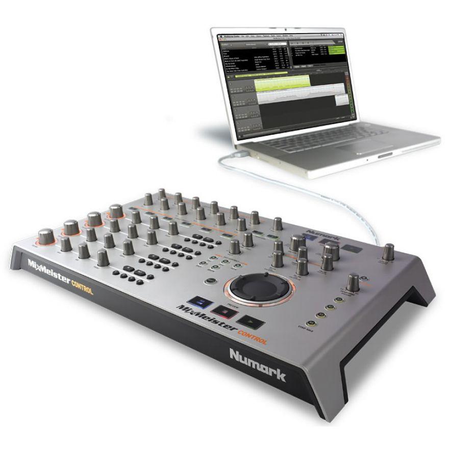 NUMARK MIXMEISTER CONTROL - MIDI CONTROLLER + SOFTWARE MIX