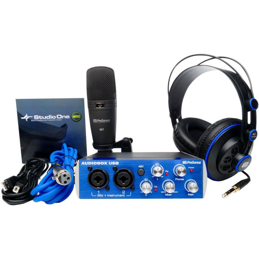 PRESONUS AUDIOBOX STUDIO Bundle -KIT DI REGISTRAZIONE/PRODUZIONE