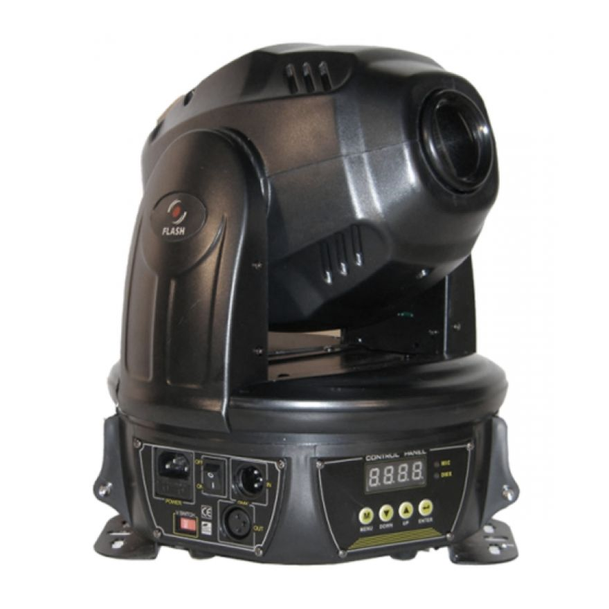 FLASH LED MOVING HEAD 60W - TESTA MOBILE A LED