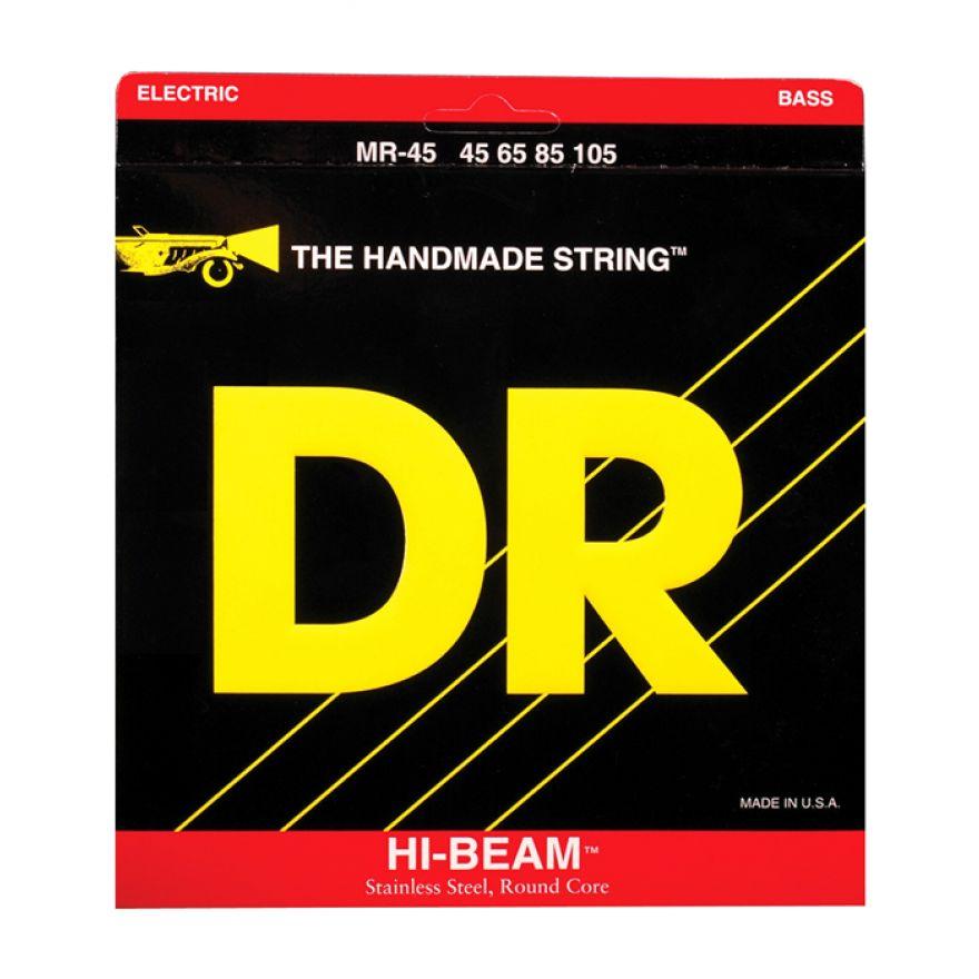 DR Strings MR-45 HI-beam - MUTA DI CORDE PER BASSO ELETTRICO (45