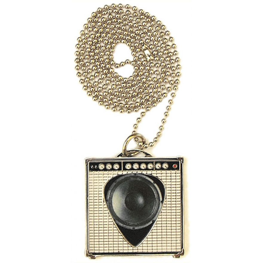PICKLACE GUITAR AMPLIFIER NEKLACE - COLLANA PORTA PLETTRO