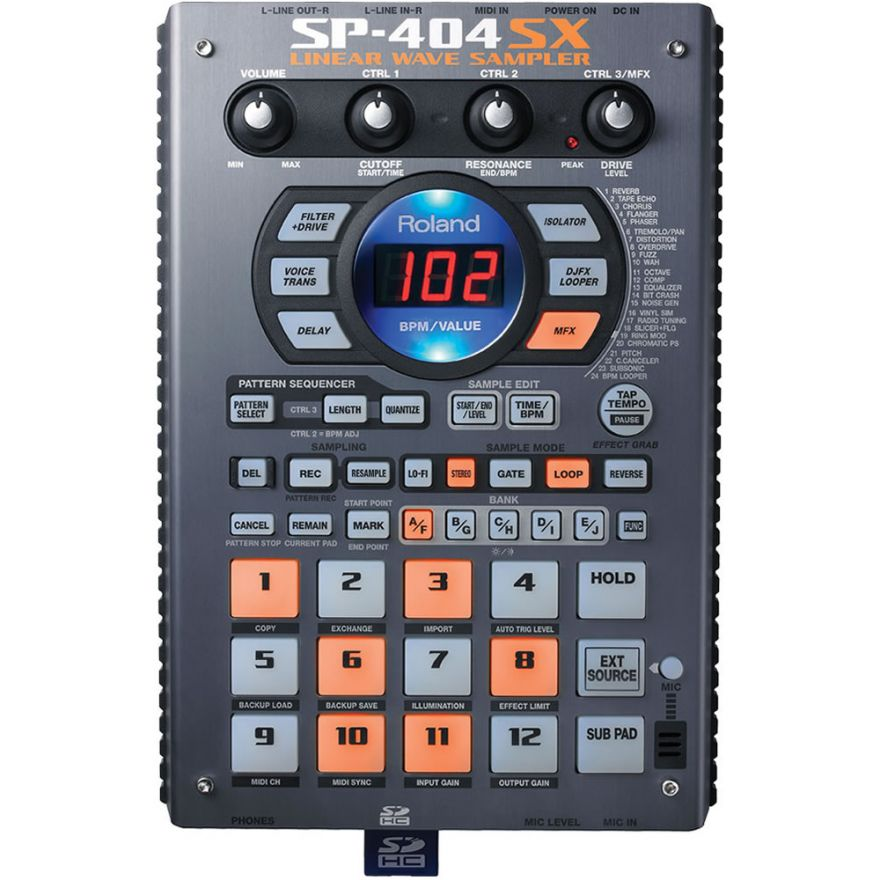 0-ROLAND SP404SX - LINEAR W