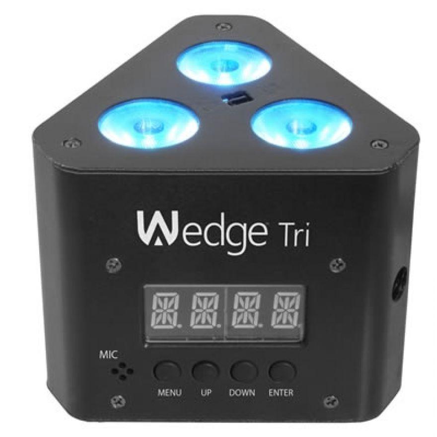 CHAUVET DJ WEDGE TRI - FARO A LED