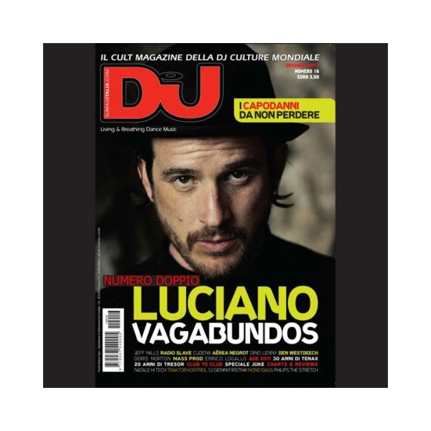 DJ MAG ITALIA DJ MAG DICEMBRE 2011 - GENNAIO 2012
