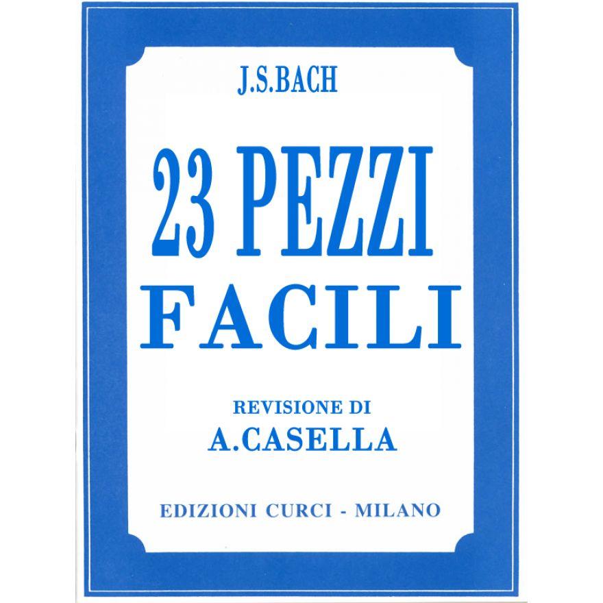 0-J.S.BACH - 23 PEZZI FACIL