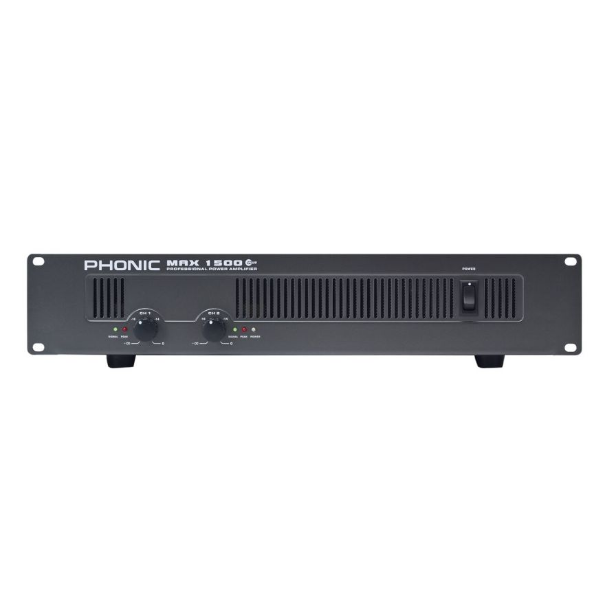 PHONIC MAX1500 PLUS - AMPLIFICATORE DI POTENZA