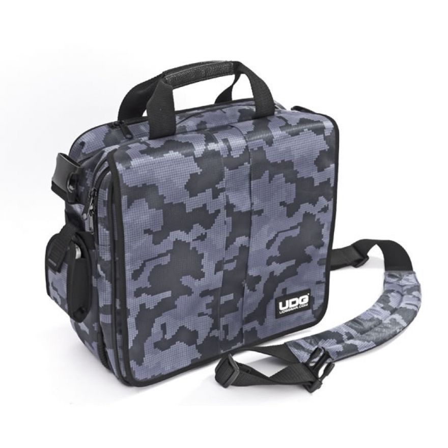 UDG COURIER BAG DELUXE CAMO GREY