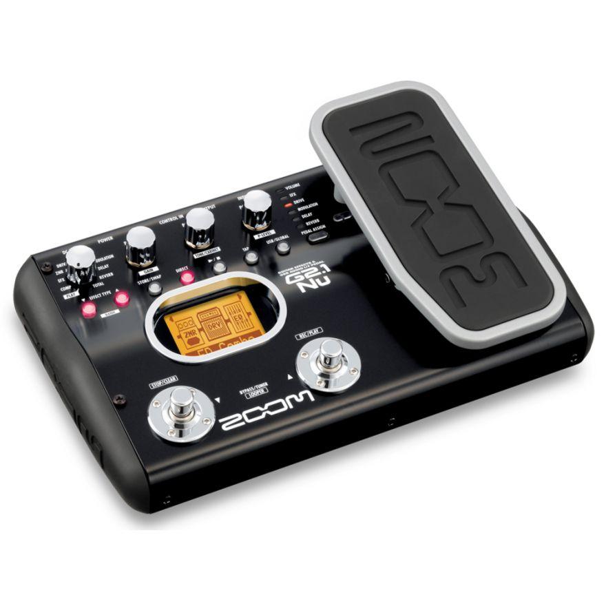 ZOOM G2.1Nu - MULTIEFFETTO INTERFACCIA AUDIO USB PER CHITARRA