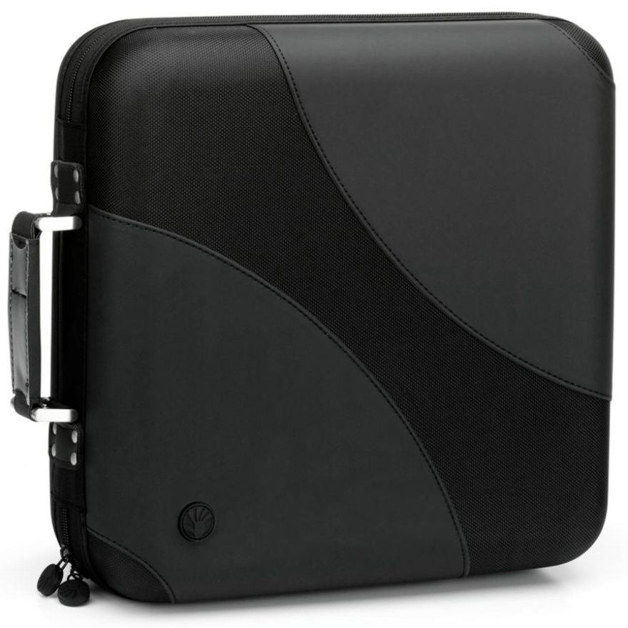 SLAPPA SL24008 Black Wave - CASE PORTA CD DA 240 POSTI