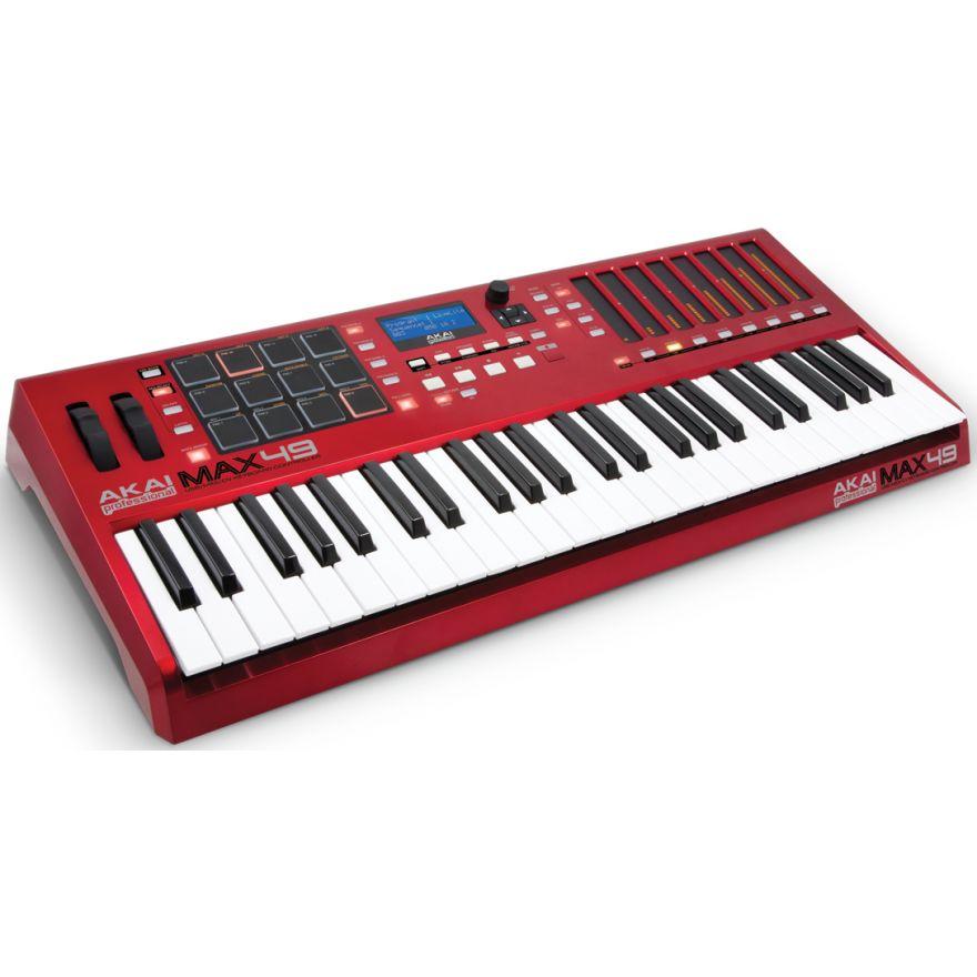 AKAI MAX49 - TASTIERA/CONTROLLER USB/MIDI