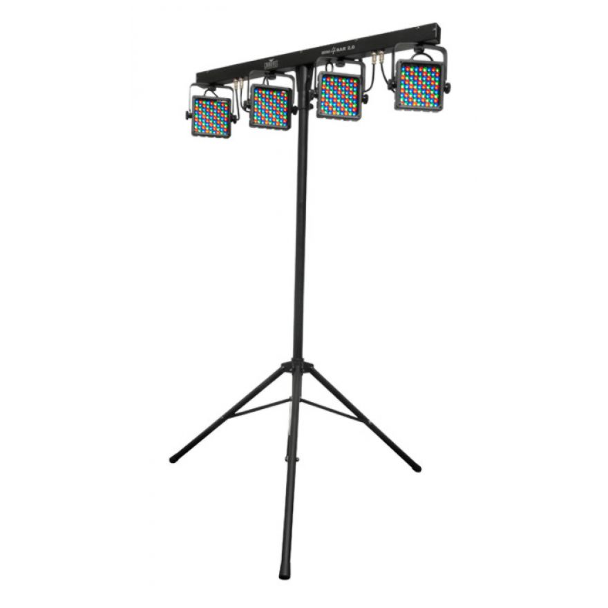 CHAUVET MINI 4BAR 2 - Mini KIT LUCI A LEDs SU TRALICCIO