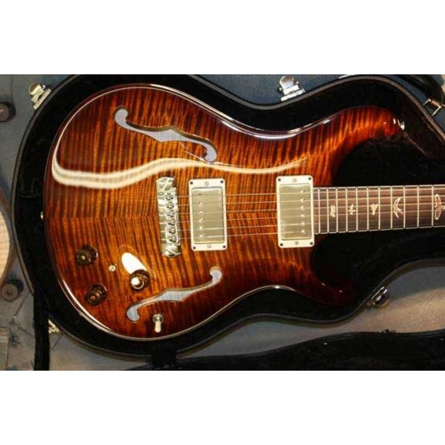 PRS HOLLOWBODY II Birds P BlackGoldBu