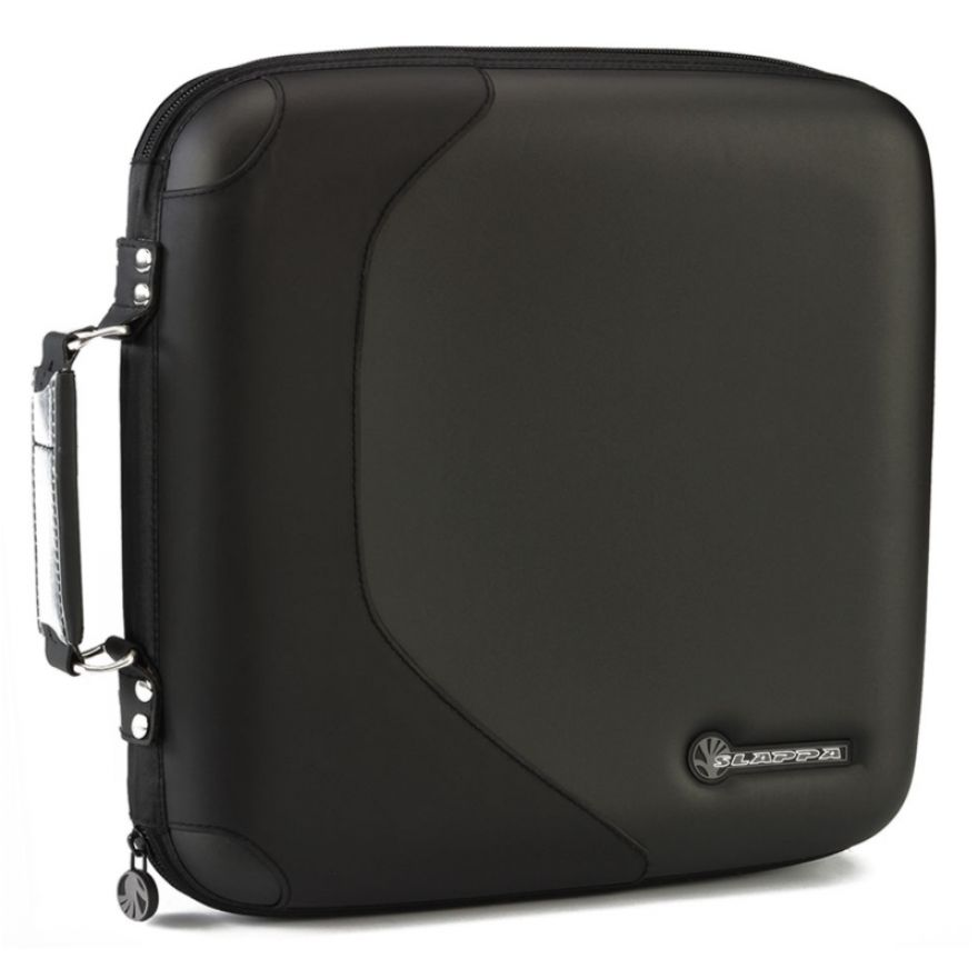 SLAPPA SL16004 Black Wave - CASE PORTA CD DA 160 POSTI