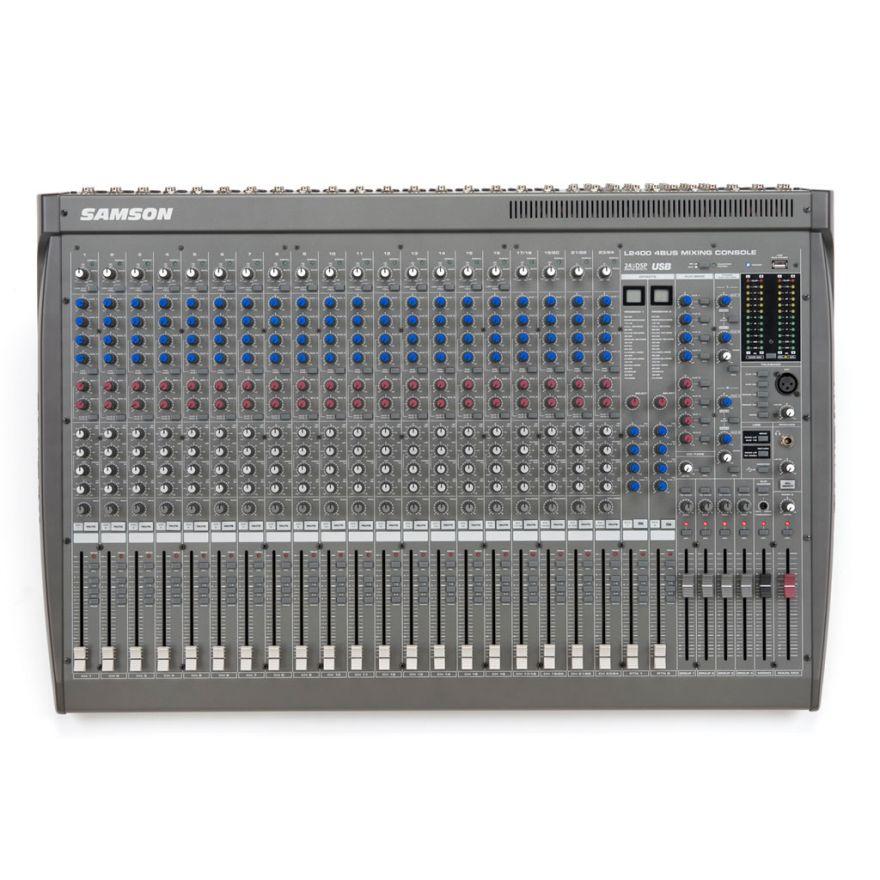 Samson L2400 - Mixer 24 canali USB con effetti