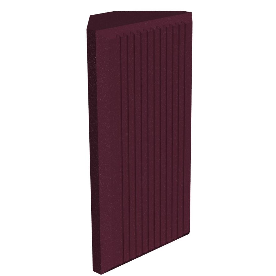 UNIVERSAL ACOUSTICS Jupiter Bass Trap 600mm Burgundy 4pz