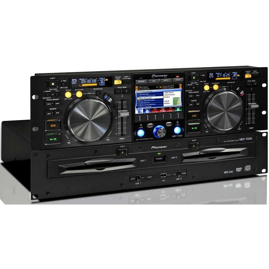PIONEER MEP7000 - DOPPIO LETTORE CD PER DJ