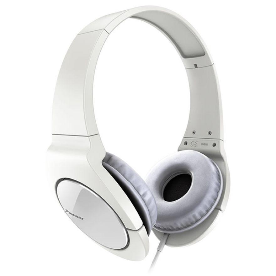 PIONEER SE-MJ721-W White - CUFFIE DINAMICHE COMPLETAMENTE CHIUSE