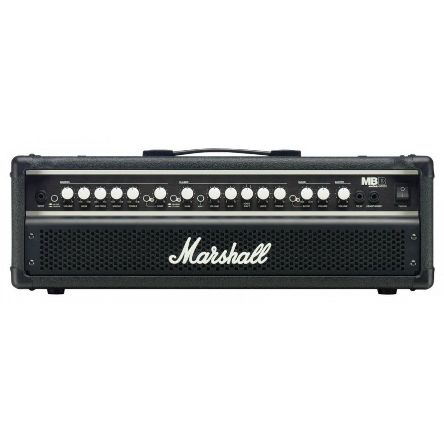 Marshall MB450H 450W Bass Head 2 Canali con Serial Effects Loop