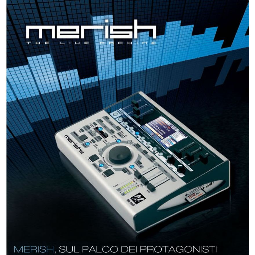 M-LIVE MERISH Plus - MIDI/MP3 PLAYER CON INTERFACCIA VIDEO