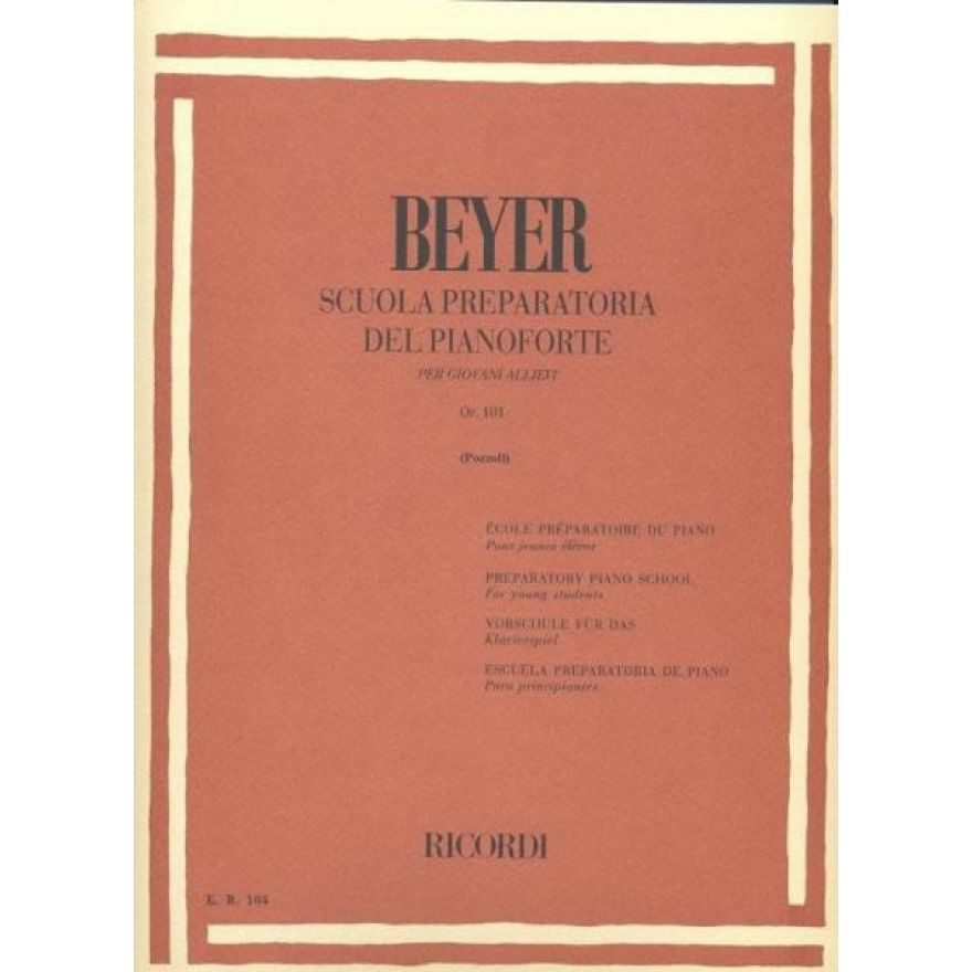 0-RICORDI Beyer, Ferdinand