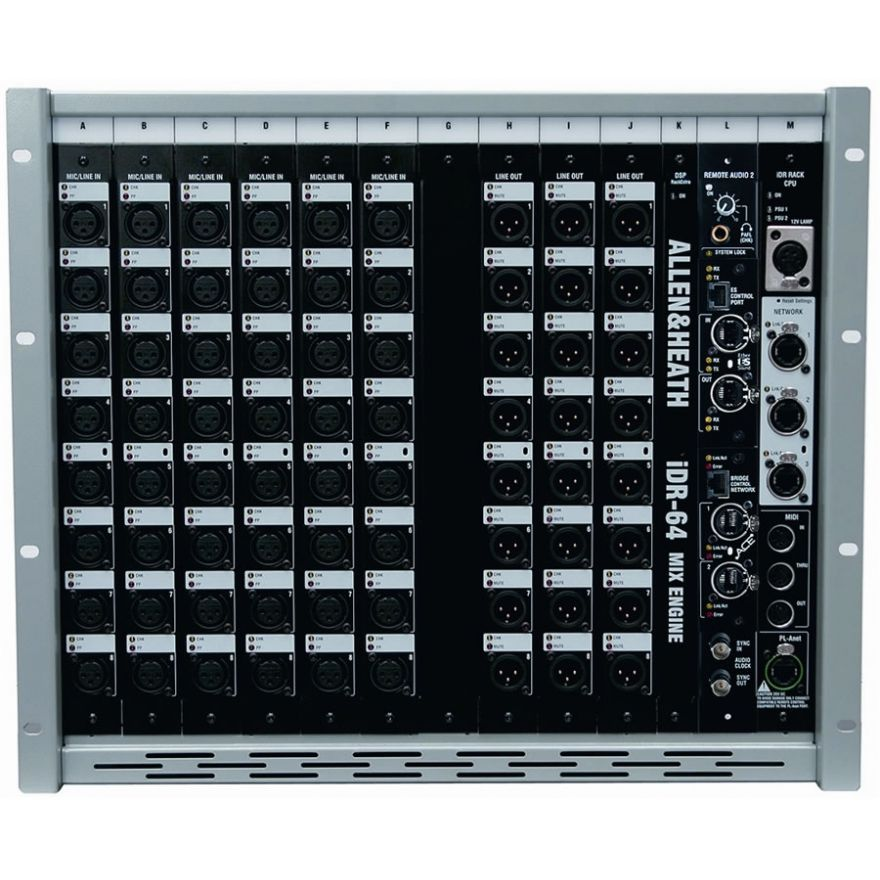 ALLEN & HEATH STAGEBOX IDR-10 - STAGEBOX MODULARE