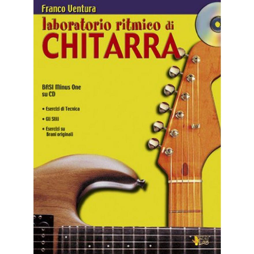 CARISCH Ventura, Franco - LABORATORIO RITMICO DI CHITARRA (+CD)
