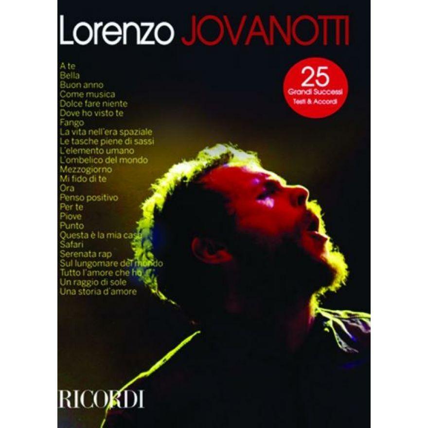 RICORDI Jovanotti - LORENZO JOVANOTTI 25 GRANDI SUCCESSI