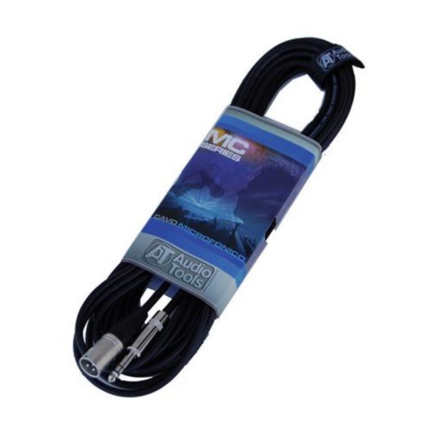 AUDIO TOOLS MC103-5 - CAVO MICROFONICO XLR M - Jack TRS 5M