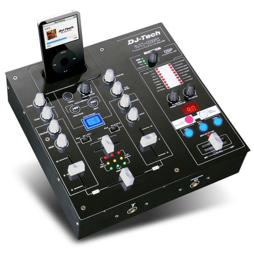 DJ TECH IMX10FX -  per iPOD con DSP MIXER PER DJ