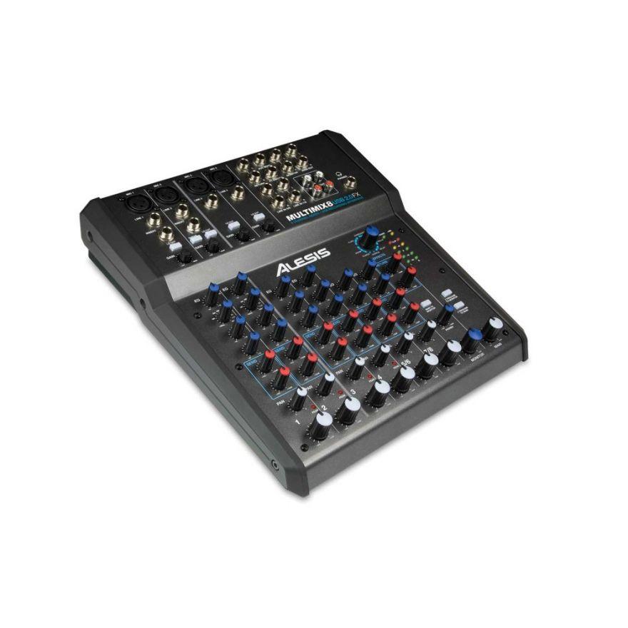 Alesis MULTIMIX 8 USB 2.0 FX Mixer con Effetti